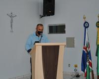 Suplente Cleverson da Cruz Cordeiro (Avante) toma posse do cargo de Vereador